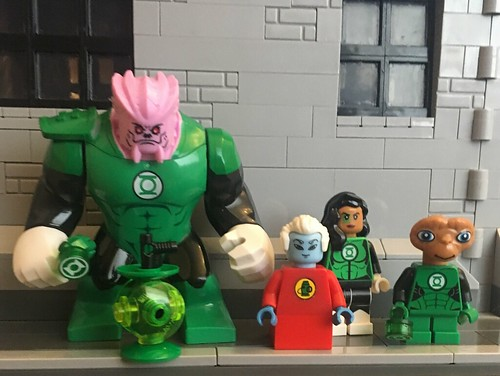 Quick photo of my Ganthet moc with a few close to hand lanterns.