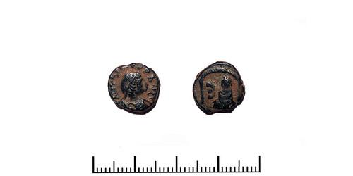 SB 0240-02  Justinian I (527 - 565 A.D.)