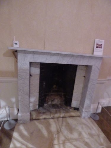 First floor at Croome Court - What is Home in the Dressing Room - fireplace