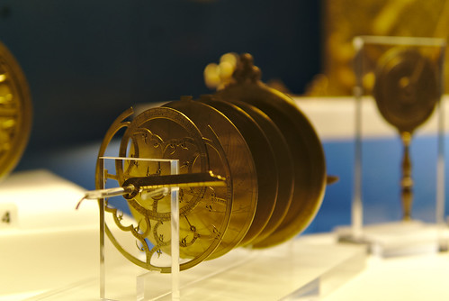 Galileo Museum: astrolabe (exploded-view)