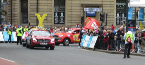 Tour De Yorkshire 2019 Finish Line, Leeds City Cemtre (05-05-19) England, UK