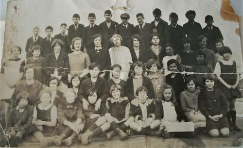Students of Dover school in Tasmania - 1926