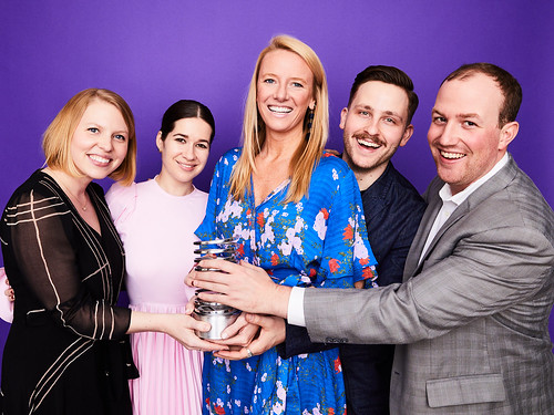 HearstMade at Hearst Digital Media at the 23rd Annual Webby Portrait Studio