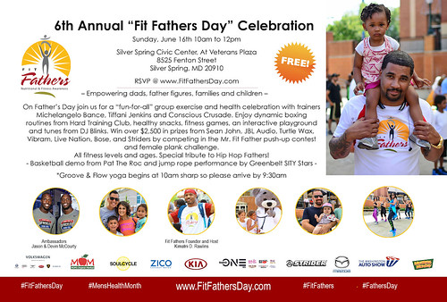 "6th Annual ""Fit Fathers Day"" Celebration"