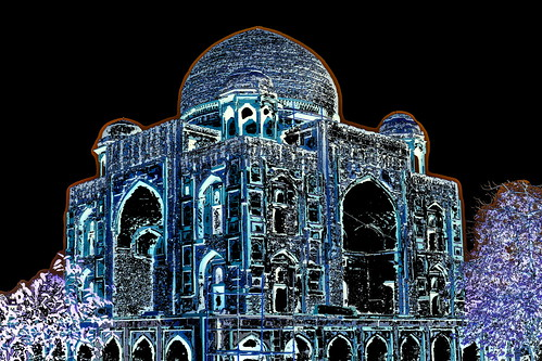 India - Delhi - Khan-i-Khanan Tomb - 1dd