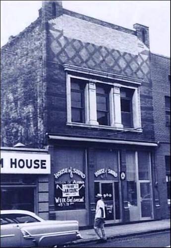 Monarch Club, 340 Beale St., Memphis TN - Circa 1956