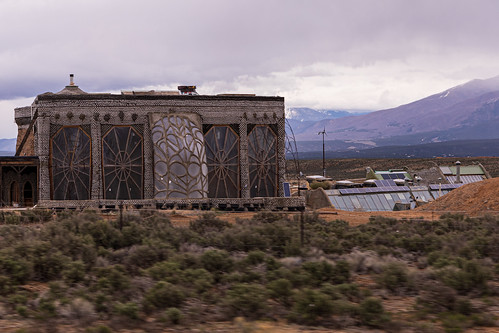 Earthship Biotecture - Near Taos, New Mexico
