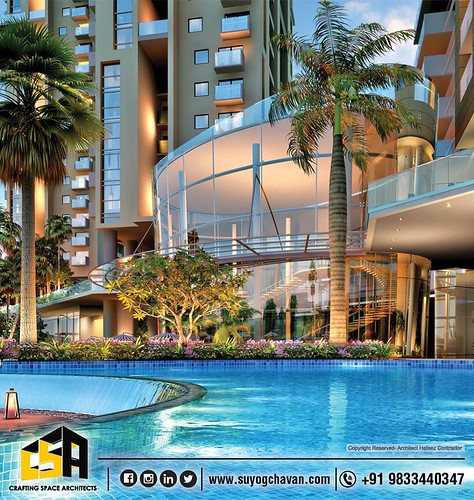 residential-architect-designed-by-Ar-Suyog-Chavan-with-Architect-Hafeez-Contractor's-team-at-NOIDA-Yamuna-expressway.