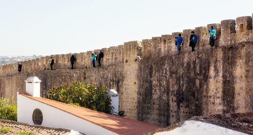 Walking the Óbidos Wall _8280