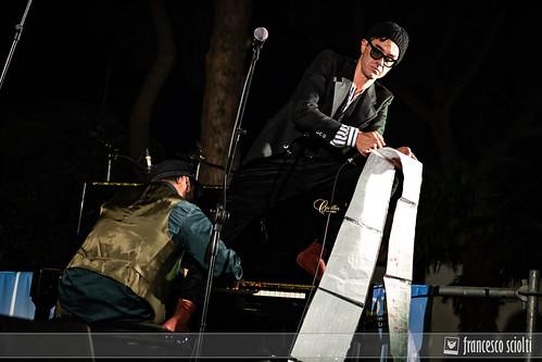 Lorenzo Kruger Canta De Andrè Live @ Sabir Festival - Lecce 18-05-2019