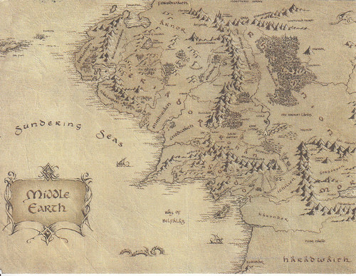 US-6016570 Middle Earth - fictional setting of much of British writer J. R. R. Tolkien's legendarium