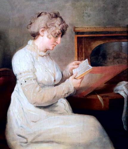 IMG_5854B Johann Heinrich Wilhelm Tischbein. 1751-1829.  Engel Christine Westphalen née Axen.   Hambourg Kunsthalle.