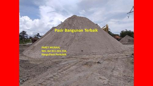 PAKET MURAH, WA +62 811-265-334, Harga Pasir Perkubik