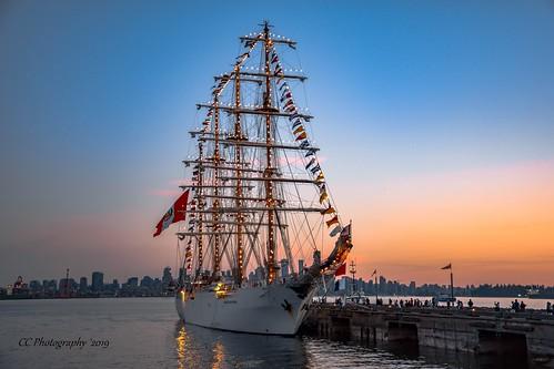 'Navy' sunset