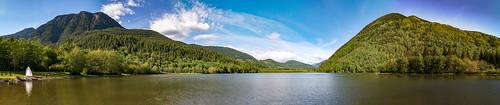 sasquatch provincial park - Deer Lake Panorama