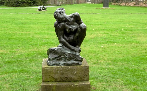 'Squatting Woman' by Auguste Rodin