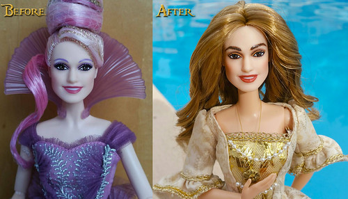 Elizabeth Swann Before and After