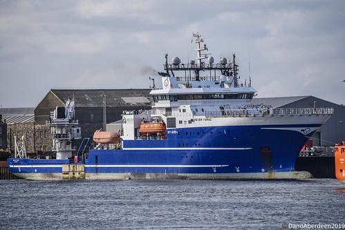 Rever Topaz - Aberdeen Harbour Scotland - 14th April 2019