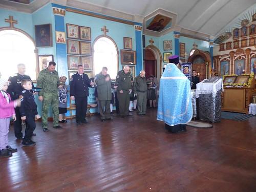 2019-04-08 Казаки станицы Котляревской приняли присягу в праздничный день