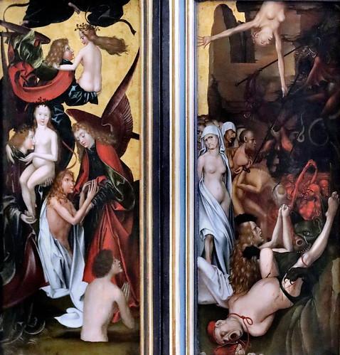 IMG_4003UI Hans Fries  1465-1520 Suisse  Das Jüngste Gericht  Le Jugement dernier The Last Judgement Munich Alte Pinakothek
