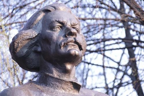 Скульптор Иван Миско. Писатель Максим Горький. The sculptor Ivan Misko. Writer Maxim Gorky (5)