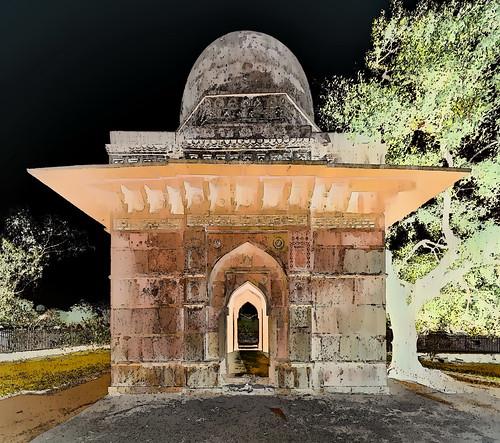 India - Madhya Pradesh - Mandu - Tomb & Mosque - 2g
