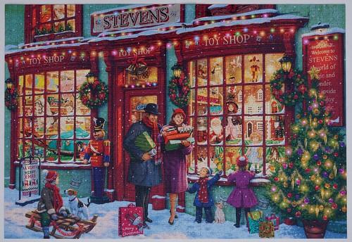Christmas Toyshop, Buffalo Games, 2000 pieces