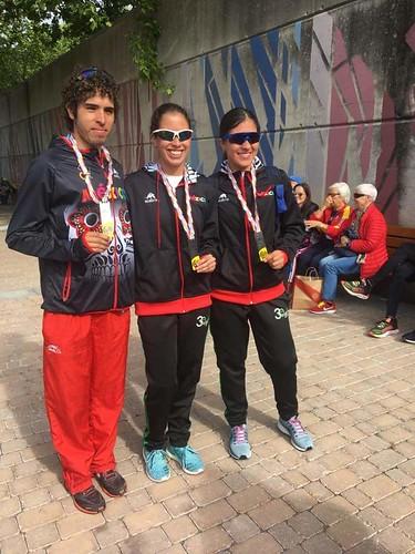 La sonorense Narda Cuen ganó oro en Mundial de Duatlón