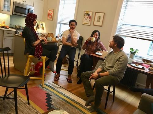 Seher, Joseph, Safia, and Jared