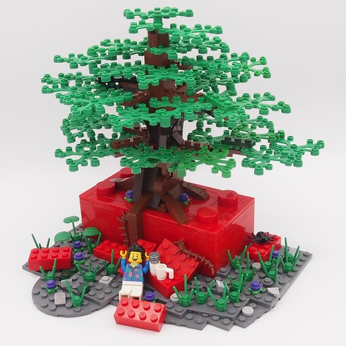 Tree out of the Brick