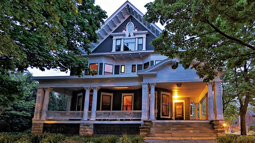 George H. Cook House at Dawn