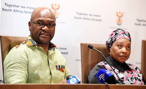 Minister Nathi Mthethwa briefs media on solidarity support towards victims of Cyclone Idai