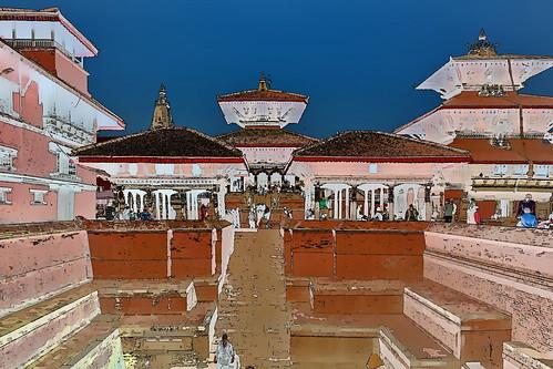 Nepal - Patan - Durbar Square - 25g