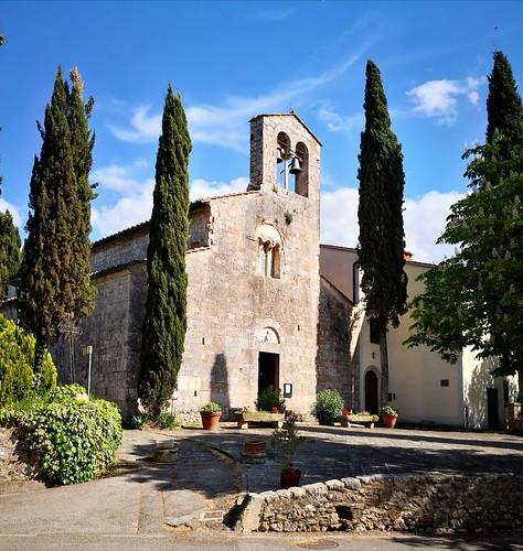 SIENA, Pievescola e Mensano Pieve di San Giovanni Battista