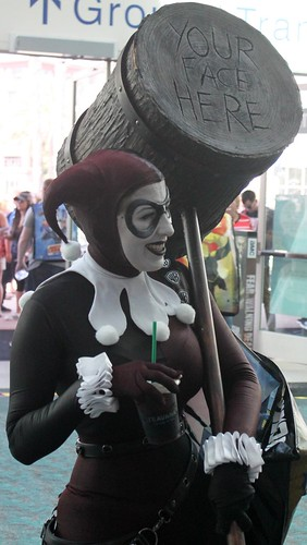 2017-Fan Dressed Up as Harley Quinn  at SDCC-03