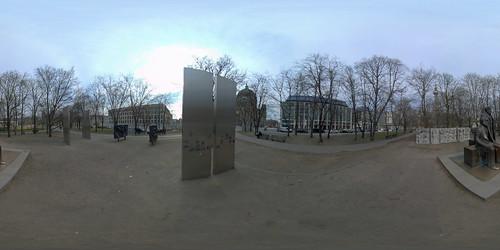 Berlin - Marx-Engels-Forum 360 Grad