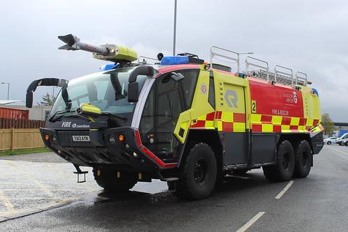 YA13 AYN Glasgow Airport Fire & Rescue Service
