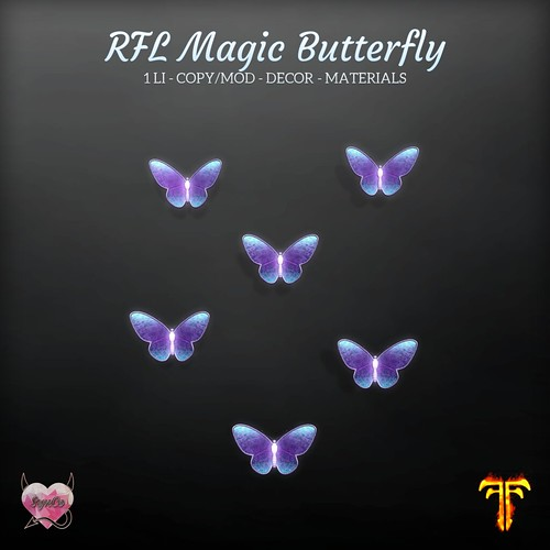 SynCo - RFL Magic Butterfly Decor