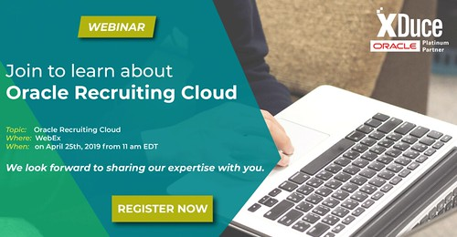 Join to learn about Oracle Recruiting Cloud