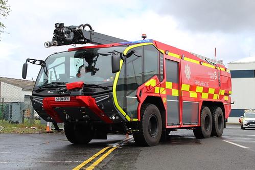 SF68 OFV Glasgow Airport Fire & Rescue Service