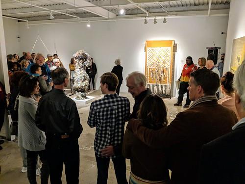 MVIMG_20190420_193045 2019-04-20 Gathered IV Opening The Museum of Contemporary Art of Georgia MOCA GA