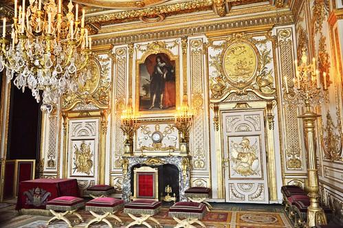 Fontainebleau - La salle du trône