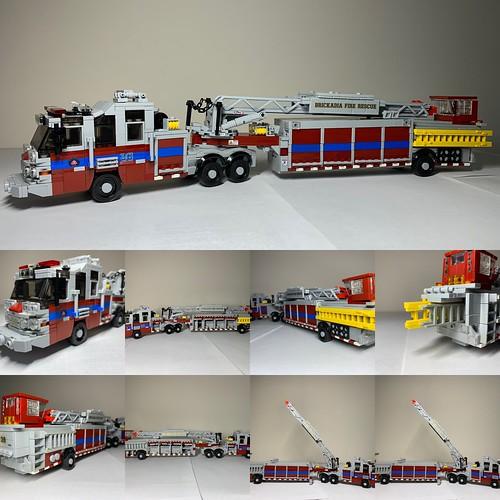 Brickadia Fire Rescue Truck 36