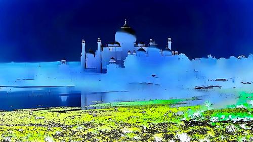 India - Uttar Pradesh - Agra - Taj Mahal - 102g