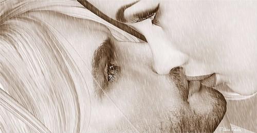 """""""Minha saudade tem nome, cheiro e um beijo bom. 💏💛"""""""