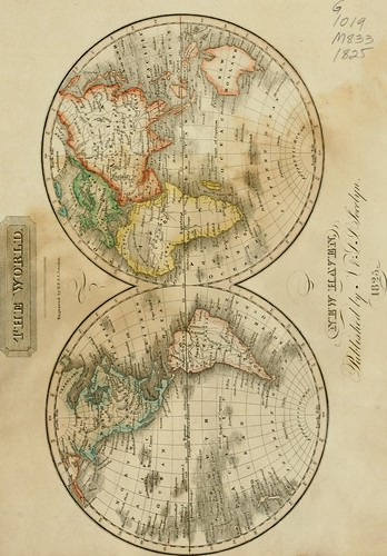 """Image from page 12 of """"A new universal atlas of the world : on an improved plan ; consisting of thirty maps, carefully prepared from the latest authorities ; with complete alphabetical indexes"""" (1825)"""