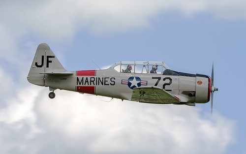 North American SBJ-5 Texan G-DHHF / 72