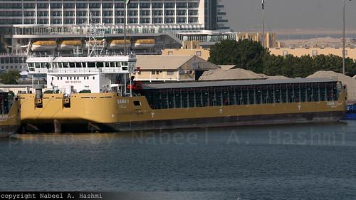 Sana 1   Deck Cargo Ship   UAE [AE]   Port Rashid, Dubai