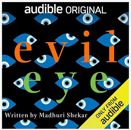"This #audibleoriginal went in a different direction than I expected. The narration is excellent. Enjoyable listen, though I was just a bit scared by the end. If anyone has listened to ""Evil Eye"" please share your thoughts. #madhurishekar #listentobooks"