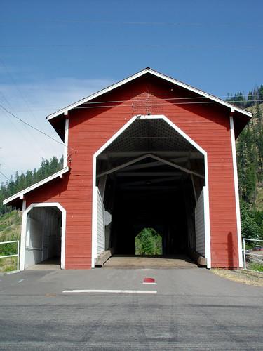 West Fir Covered Bridge
